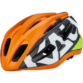 Kali Therapy Kask rowerowy, matte neon orange/yellow